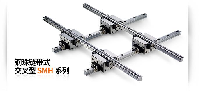 钢珠链带式交叉型SMH系列